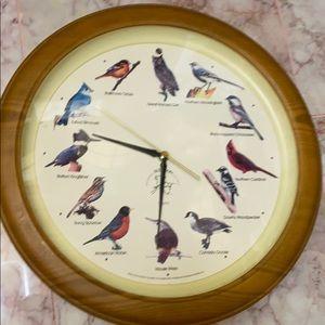 Other - Singing bird clock vintage HOST PICK!